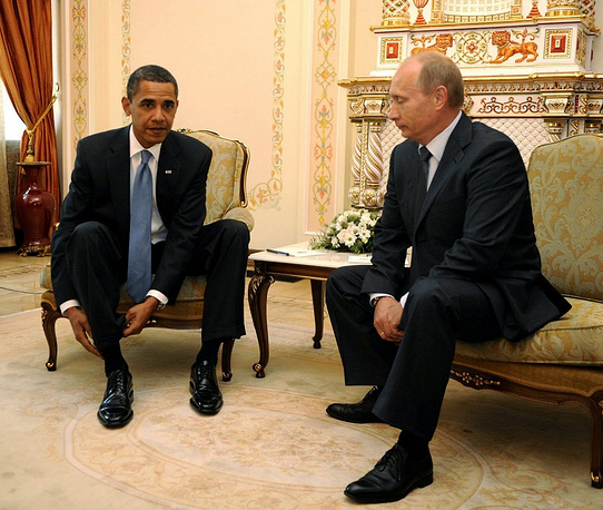 For the first time politicians met in Moscow in 2009, when the US President visited Russia. Vladimir Putin held the post of prime minister at that time