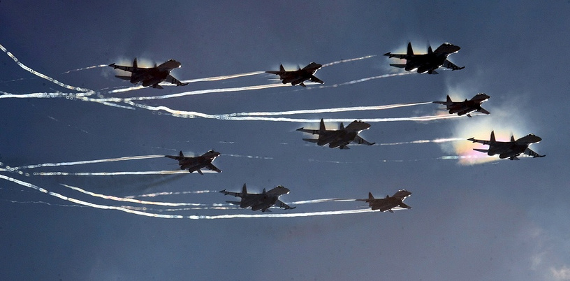 Both aerobatic teas are welcome guests at the largest air shows and festivals around the world