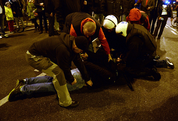 The police arrested more than 276 offenders, the spokesman of the commandant general of police, Mariusz Sokolowski, said