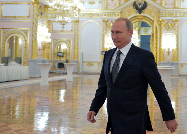 In Russia's contemporary history, it was the 21st presidential state of the nation address and the 11th address for Vladimir Putin