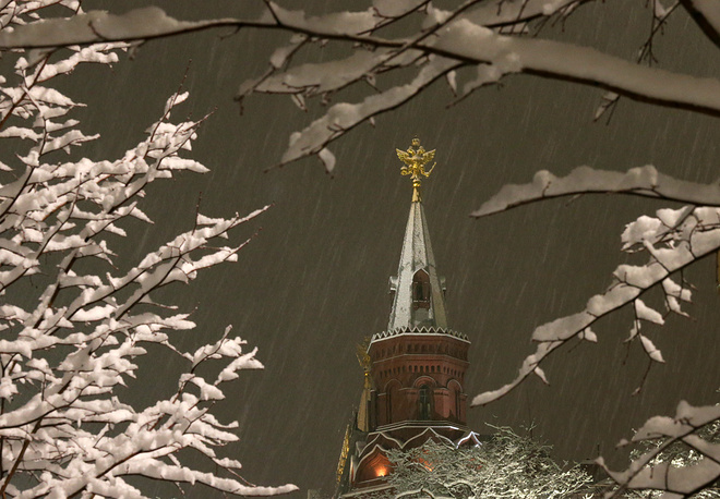 Photo: Historical Museum tower, Moscow