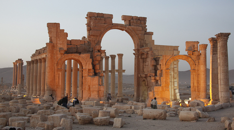 A general view of ancient city of Palmyra in central Syria