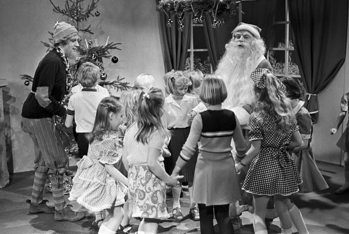 New Year program on Estonian TV, 1982