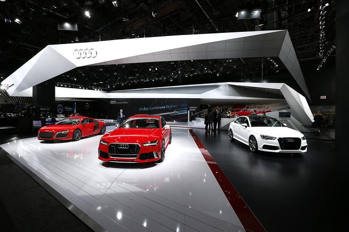 Audi exhibit