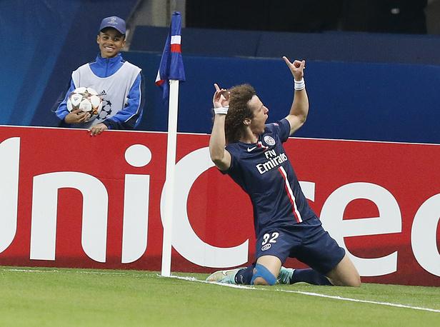 Paris Saint Germain player David Luiz