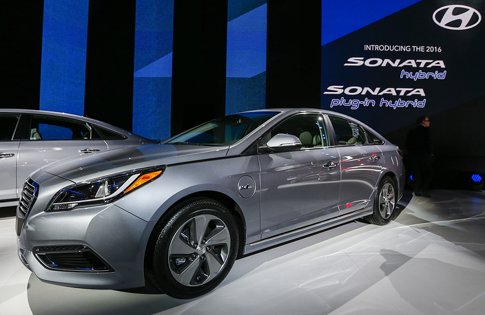 New Hyundai Sonata plug-in Hybrid
