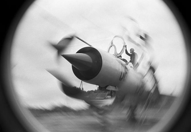 Su-9 fighter, 1977