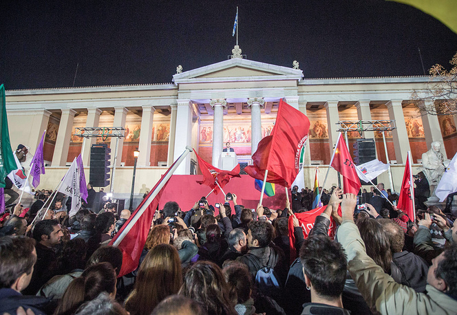Radical left-wing opposition party Syriza won parliamentary elections in Greece on January 25, securing 149 seats in parliament out of 300