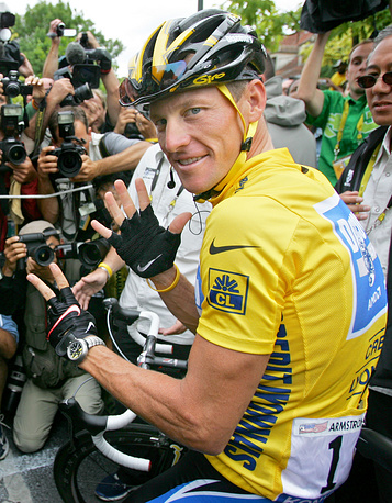 Former professional road racing cyclist Lance Armstrong battled testicular cancer and later founded the Lance Armstrong foundation that provides support for people affected by cancer