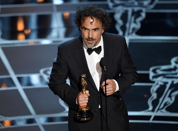 "Alejandro G. Inarritu won the Oscar for best director for ""Birdman"""