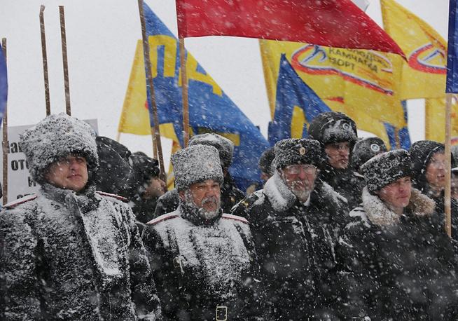 Rally in Petropavlovsk-Kamchatsky