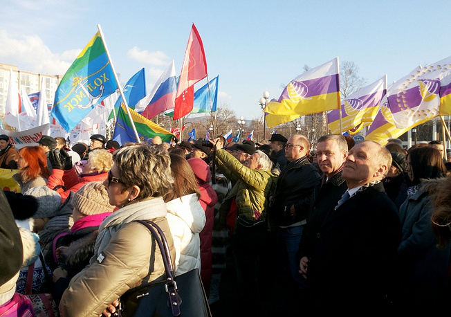 About 2.5 thousand. people gathered in Khabarovsk