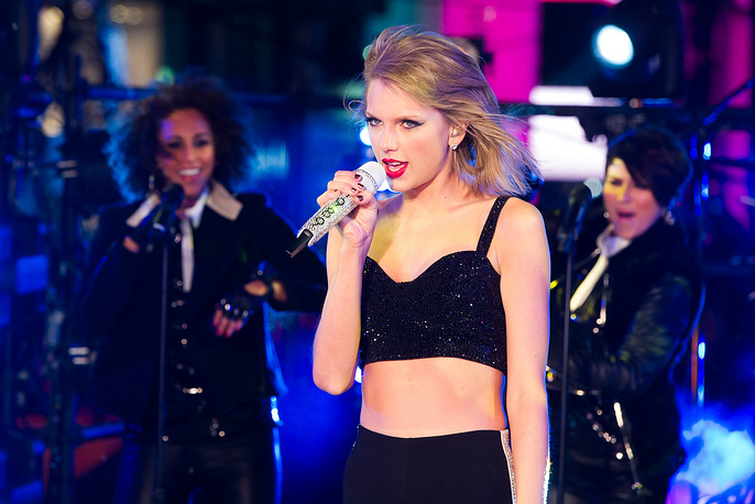 5. American singer Taylor Swift