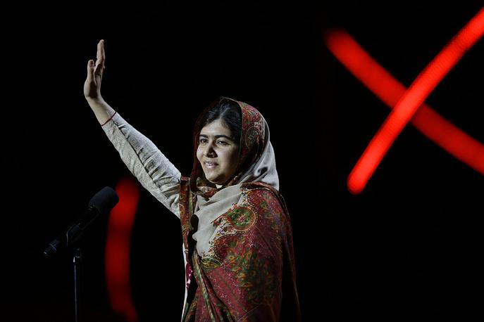 8. Nobel Peace Prize winner Malala Yousafzai from Pakistan