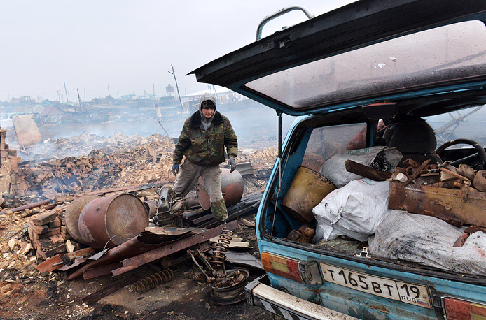 The Khakassia authorities have introduced an emergency regime in the republic