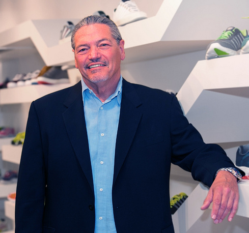 Larry Remington, President & CEO of K-Swiss Global Brands (PRNewsFoto/K-Swiss Global Brands)