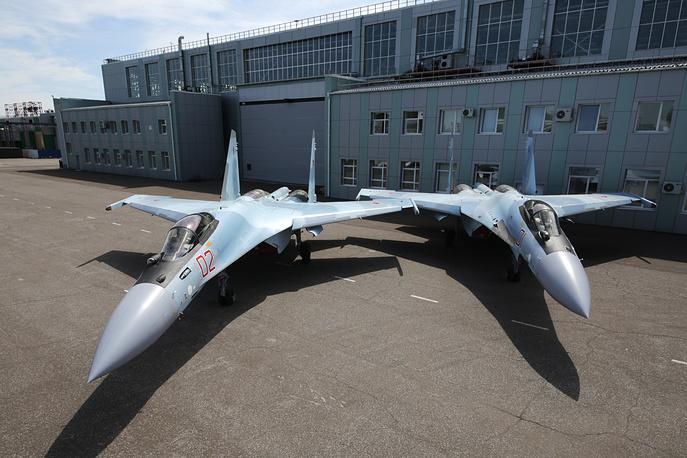 Sukhoi SU-35S fighter jets