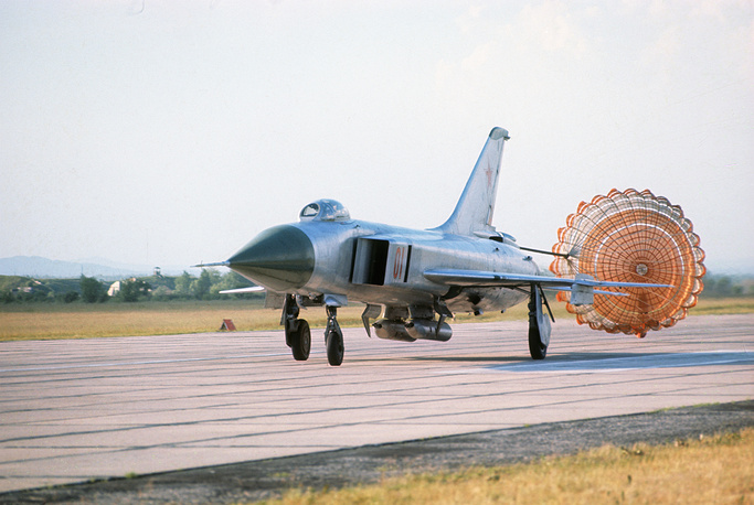 Sukhoi Su-15 supersonic interceptor was developed by the Soviet Union in the 1960s to replace Su-11 and Su-9
