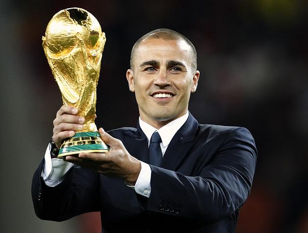 World Champion 2006, Golden Ball winner Fabio Cannavaro