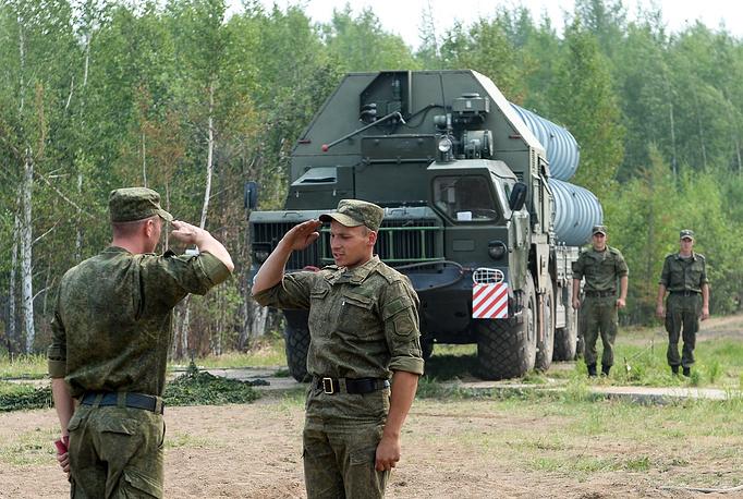 Air defense drills in Buryatia