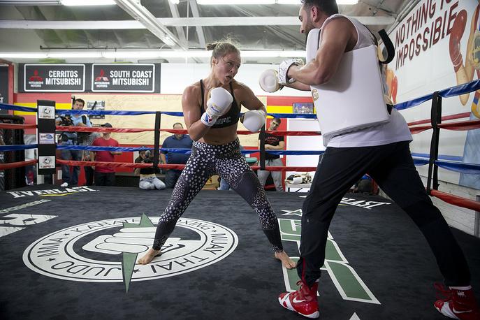 American mixed martial artist Ronda Rousey ($6.5 million)