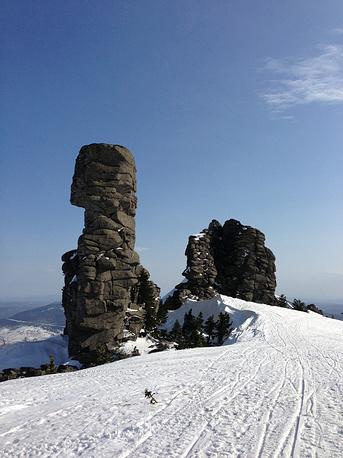 The ski resort of Sheregesh in Russia's Kemerovo region