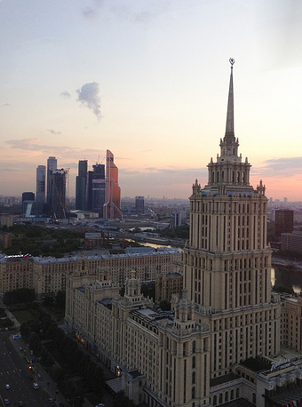A view of Moscow, June 26, 2013