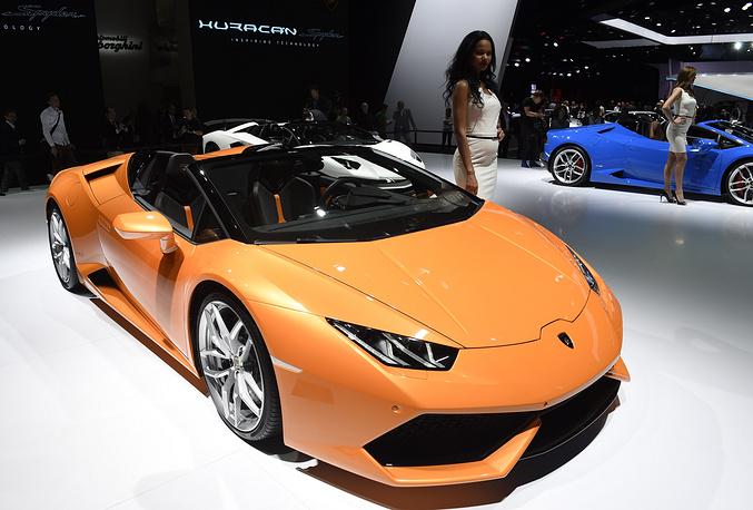 Lamborghini Huracan LP 610-4 Spyder