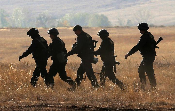 Center-2015 military exercises