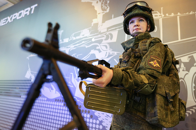 Pecheneg SP light machine gun produced since 1999 is said to be more accurate than all its predecessors. The weapon is capable of having a telescopic sight or other sights mounted on it, increasing its accuracy and effective range