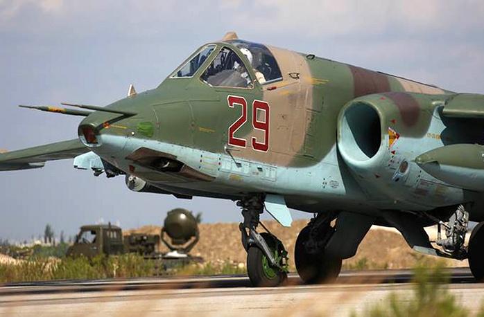 Sukhoi Su-25SM warplane