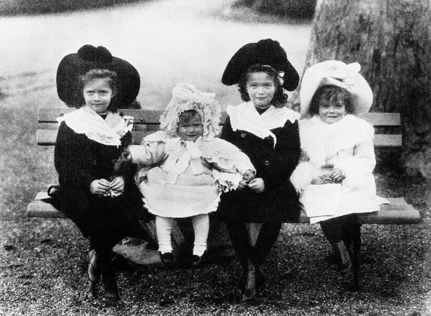Daughters of Nicholas II, Olga, Tatiana, Maria and Anastasia