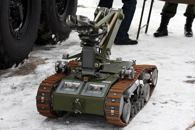 MRK-RKh mobile robotic system of radiation and chemical reconnaissance