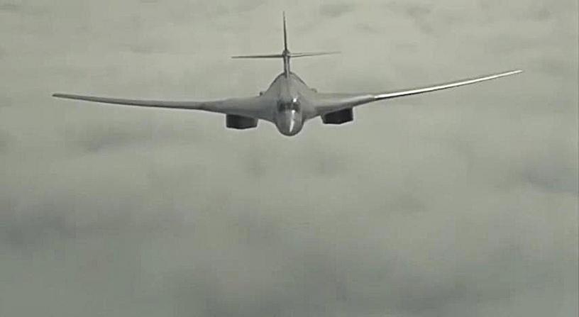 Tu-160 strategic bomber of the Russian Air Force