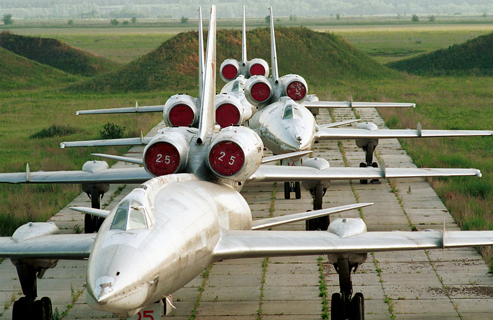 Tupolev Tu-22 became the first supersonic bomber to enter production in the Soviet Union. It entered service in the 1960s