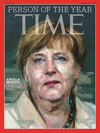 Angela Merkel named Time magazin's Person of the Year 2015