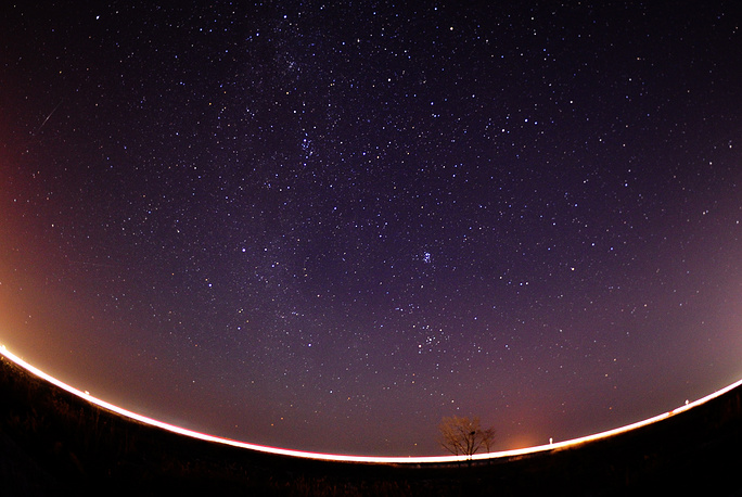 This year Geminid meteor shower reached its peak on December 13