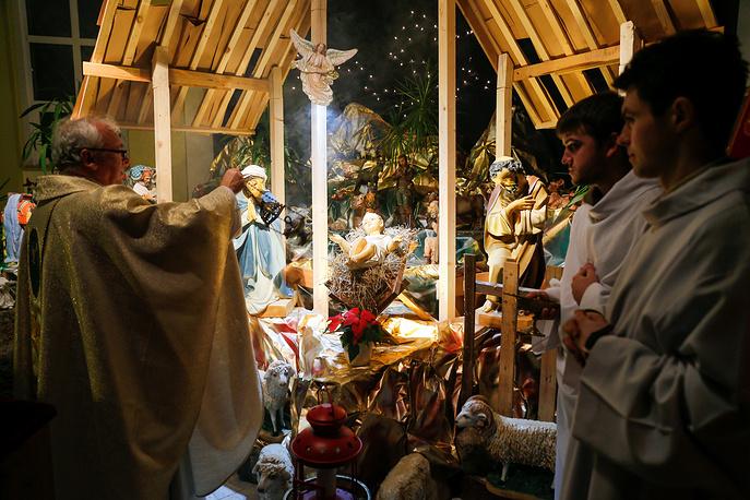 Christmas Eve Mass at St. Adalbert's Church