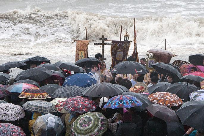 Celebrations of Orthodox Epiphany in Sochi