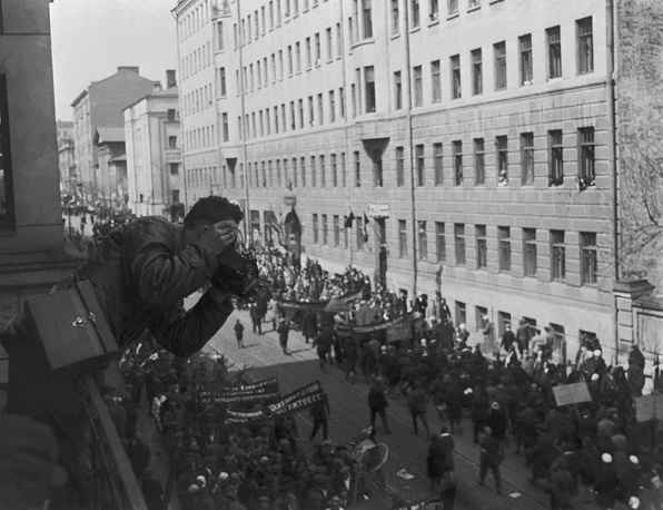 Labour Day demonstration in Moscow, May 1, 1932