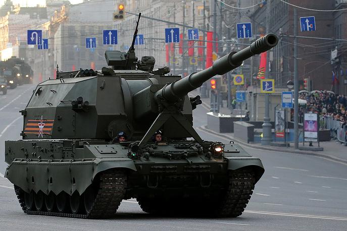 2S35 Koalitsiya-SV self-propelled artillery system