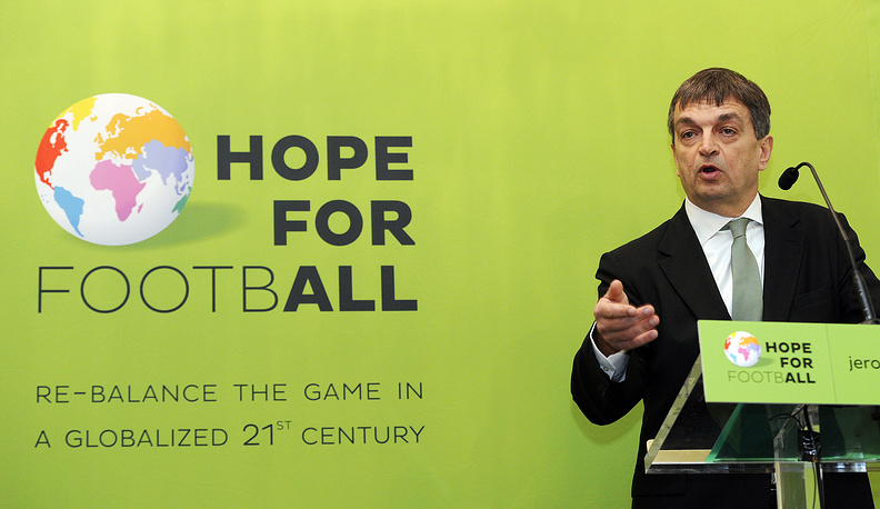 Jerome Champagne, a former right-hand man to ex-FIFA President Joseph Blatter