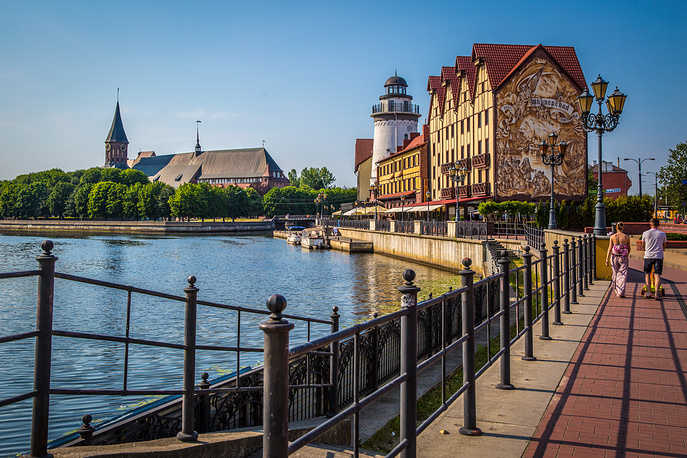 Kaliningrad ranked seventh