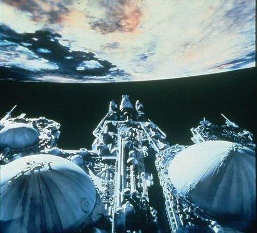 The spacecraft from 'Alien'