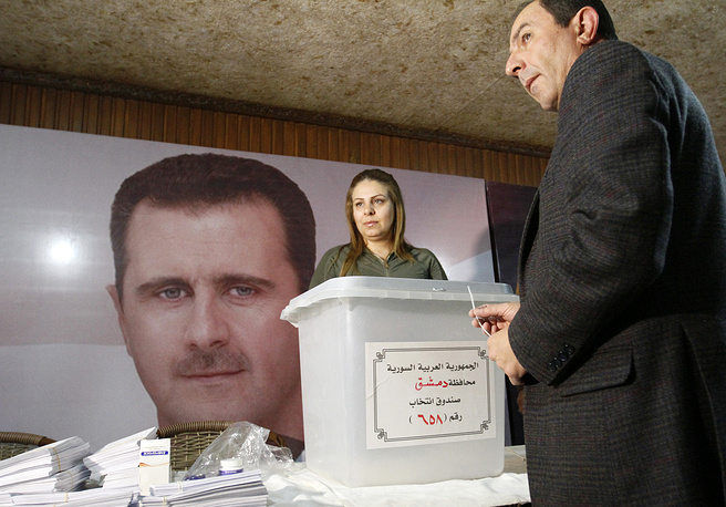Parliamentary elections in Damascus