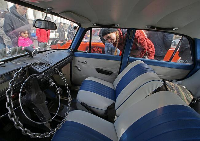 Izh car interior
