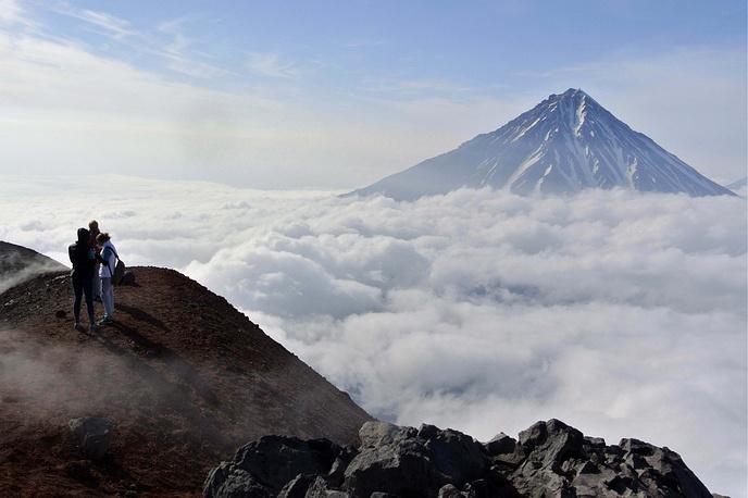 Avacha (Avachinsky) volcano
