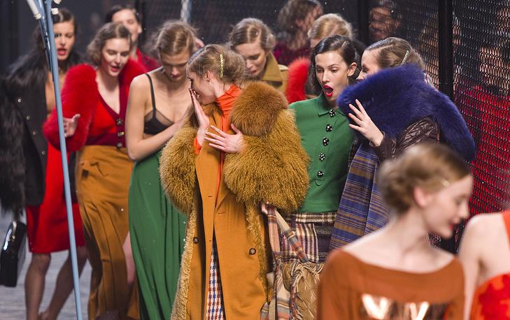 Sonia Rykiel fall-winter 2012 fashion collection