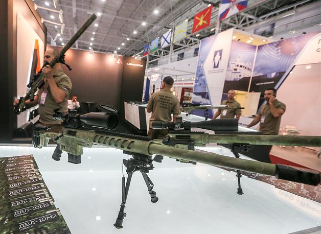 Sniper rifle DVL-10 M2 Urbana