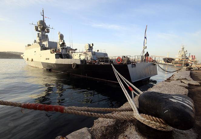 Serpukhov small missile ship
